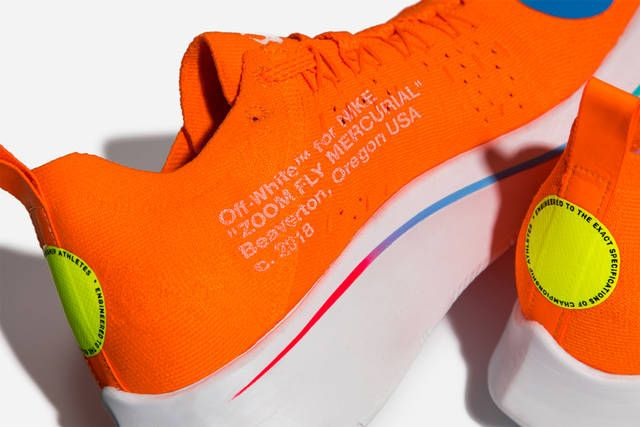 4473649abc4c9 A Closer Look at the Virgil Abloh x Nike Zoom Fly Mercurial Flyknit ...
