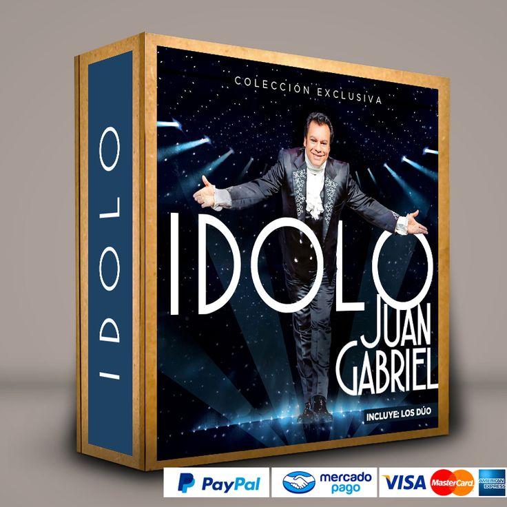 #IDOLO Colección Especial de Juan Gabriel (Los tres conciertos en Bellas Artes + CD Dúos 1 + CD Dúos 2) #Series #Películas #DVD #BluRay Calidad HD. Presentación exclusiva de RetroReto. Pedidos: 0414.402.7582. Visita: http://www.retroreto.com.ve/