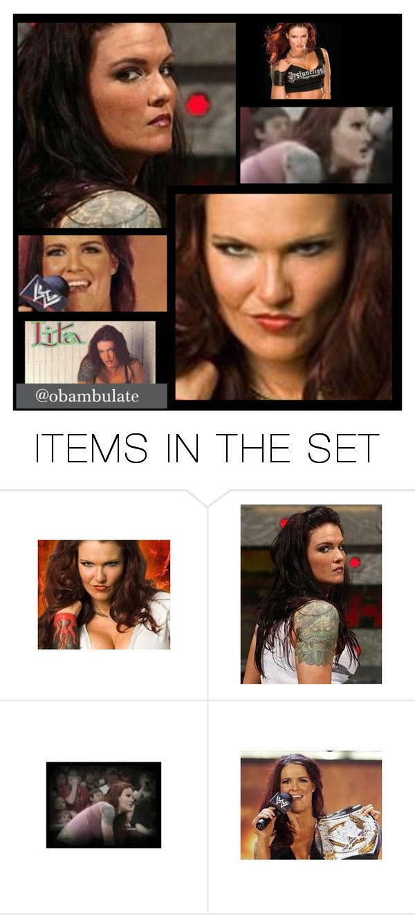 """""""Wwe Lita"""" by cherrykisses88 ❤ liked on Polyvore featuring art, lita, WWE, pictures and wrestler"""