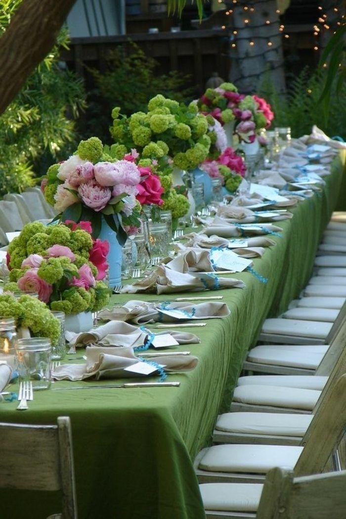 decouvrir la decoration de table anniversaire en 50 images decos tables pinterest wedding decorations wedding et table settings
