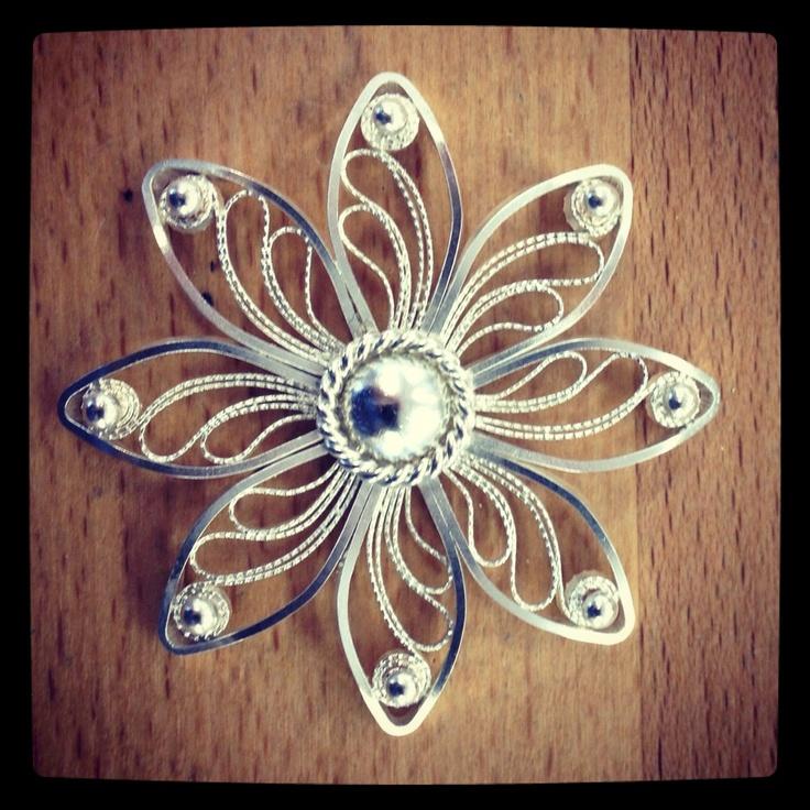 My filigree brooch