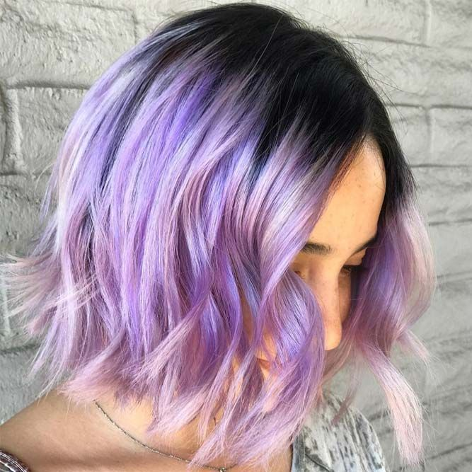 46 Purple Hair Styles That Will Make You Believe In Magic | Hair ...