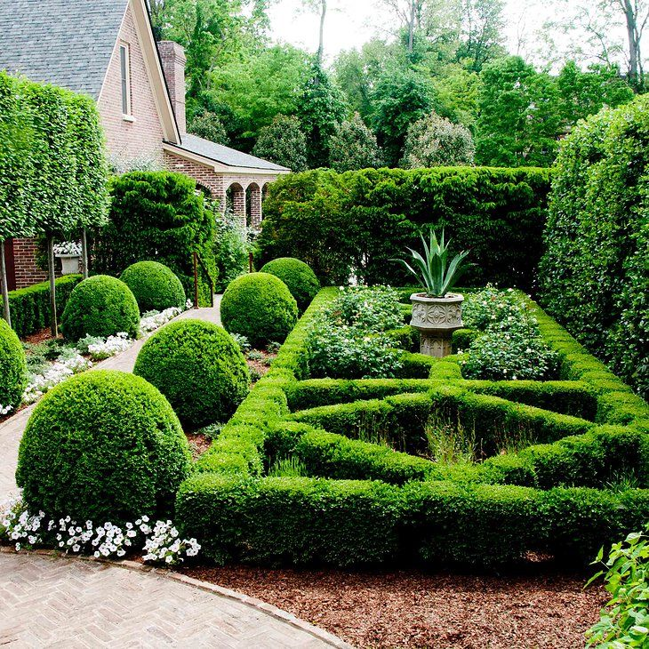 Private Small Garden Design: 450 Best PARTERRE' Images On Pinterest