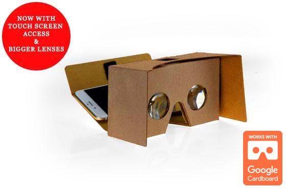 G2: Google Cardboard VR Viewer 2015 Inspired Design