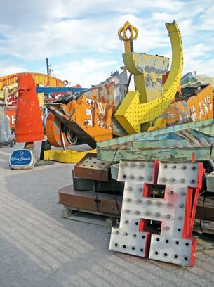 The Neon Museum - Las Vegas! I don't really care either way about Vegas, but if I ever go, might as well have some fun