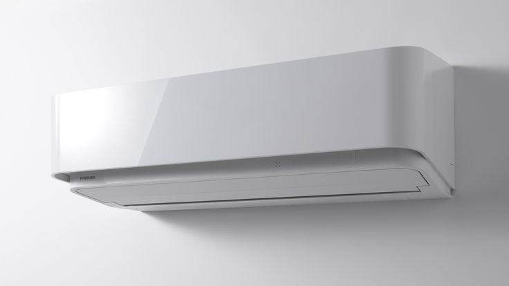 【エアコンディショナー DRシリーズ】 壁の一部を引き出したようなやさしいフォルム。できる限り形と色の要素をそぎ落とした簡潔なデザインが室内空間に調和します。 http://www.toshiba.co.jp/living/air_conditioners/dr.html
