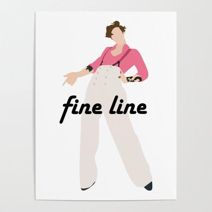 harry styles fine line small canvas art