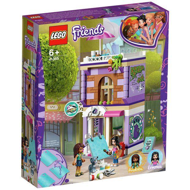 Lego Friends Emma S Art Studio Playset 41365 Lego Friends Sets Lego Friends Lego