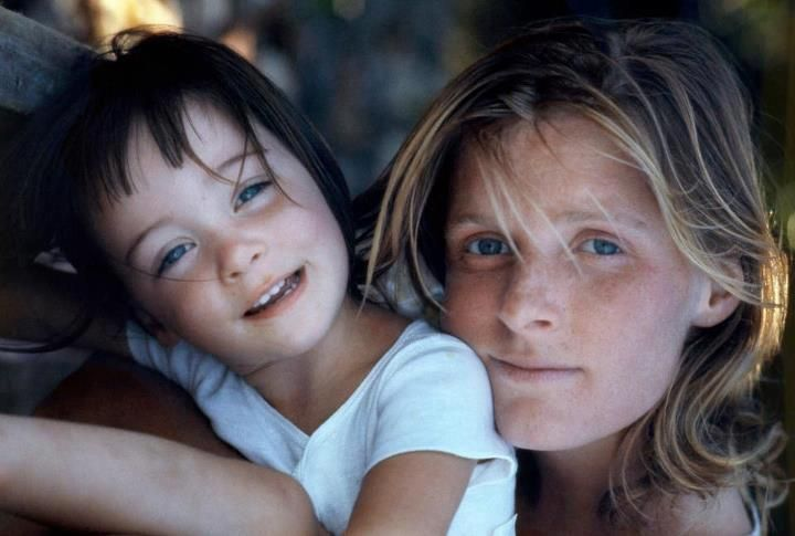 Mary and Linda McCartney