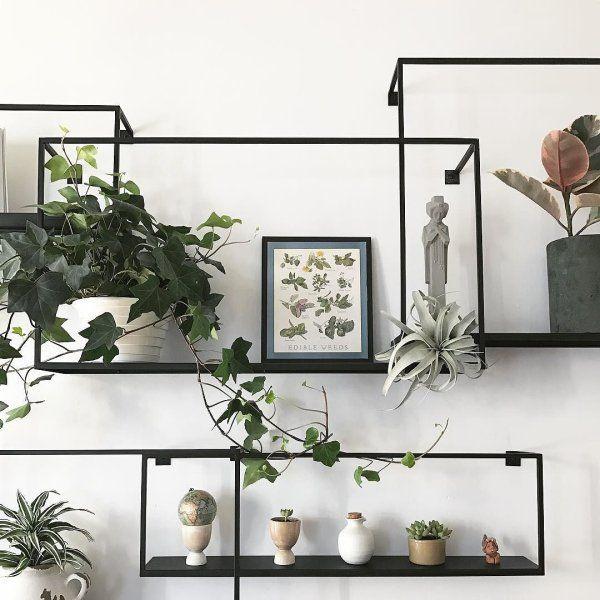 Set Of 3 Iron Floating Shelves Reviews Decor Home Decor