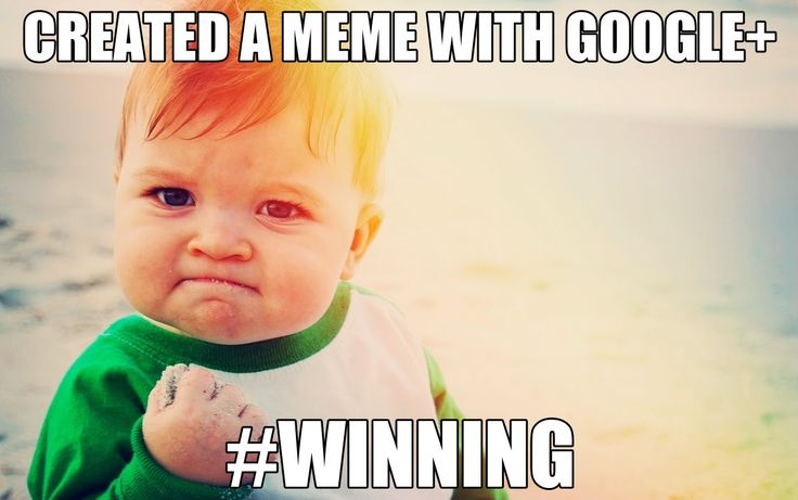 Did you know that you could easily create a meme using Google+? It only takes a few simple steps and you can create a piece of potentially v...