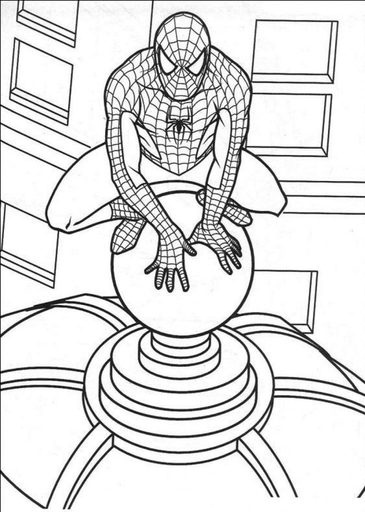 Free Printable Spiderman Coloring Pages For Kids Spiderman Coloring Spider Coloring Page Coloring Book Pages