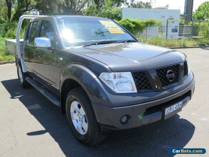 2005 Nissan Navara D40 ST-X Grey Manual 6sp M 4D UTILITY #nissan #navara #forsale #australia