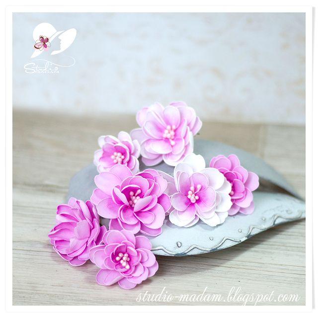 Studio-Madam: Magnolie - trochę wiosny w lutym :)