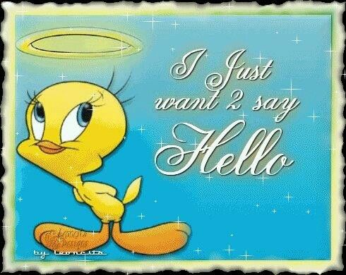 Saying Hello Tweetie Tweety Tweety Bird Quotes Birds