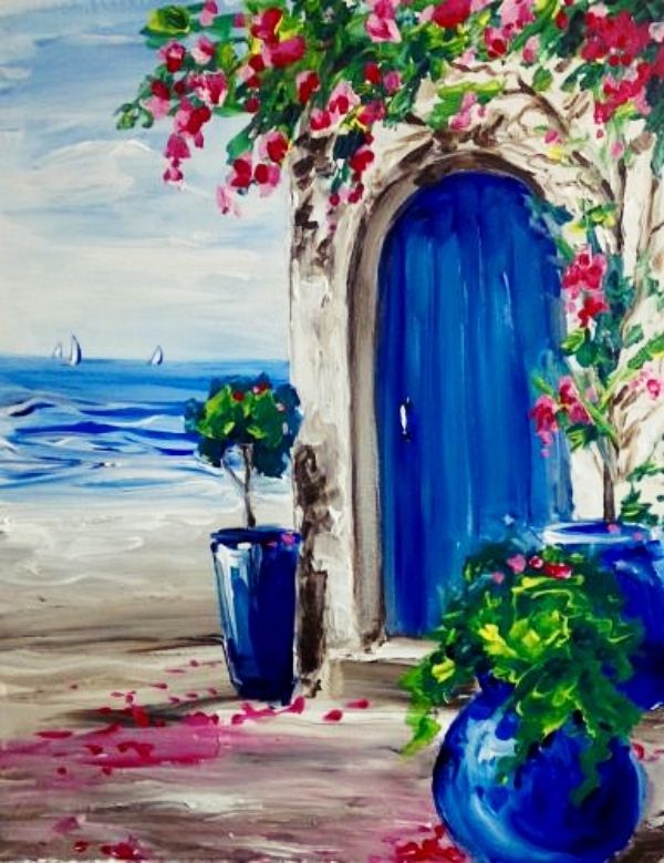 40 Easy Acrylic Painting Ideas on Canvas