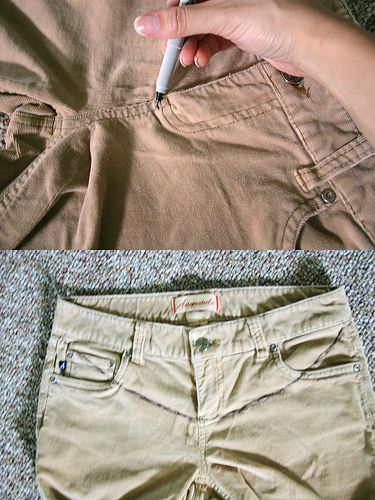More DIY Maternity pants. [ NineAndAHalfMonths.com ] #maternity