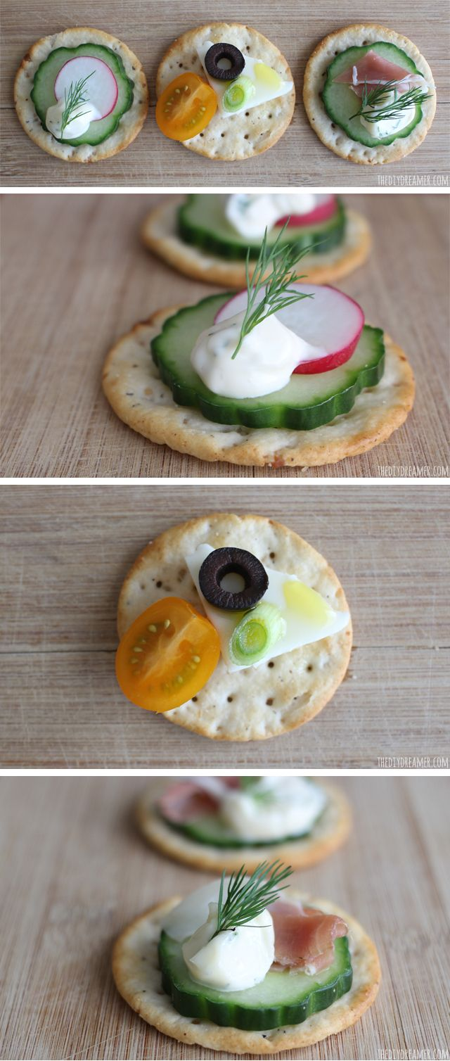 17 best images about delicious cracker hors d 39 oeuvres on for Hor d oeuvres recipes