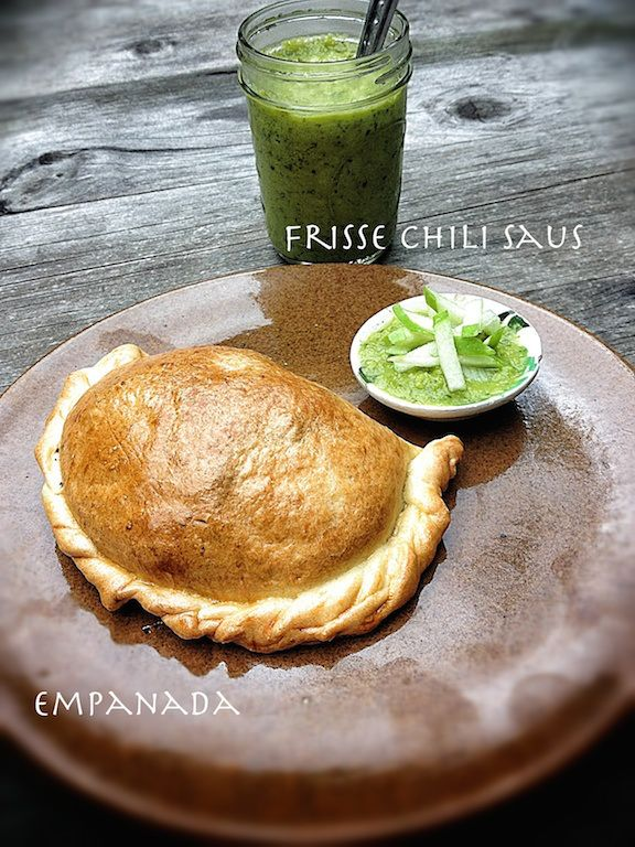 empananda fresh chili sauce