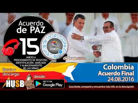 Acuerdo de Paz de Colombia en Audio Libro 15 Plebiscito 2016
