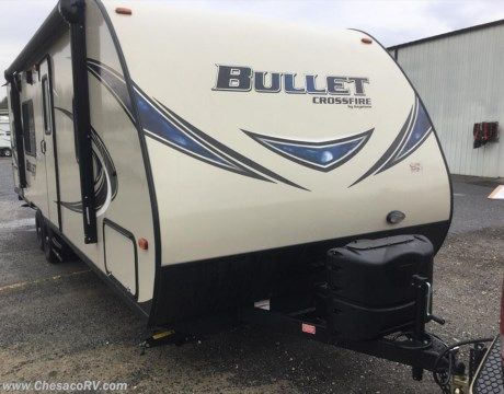 New 2017 Keystone Bullet CROSSFIRE 2510BH For Sale by Chesaco RV - Joppa available in Joppa, Maryland