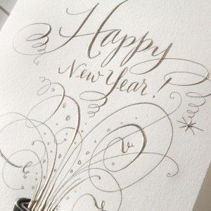 champagne pop!: Type Reference, Holiday Cards, Holidays, Paper Products, Chalkboard Lettering