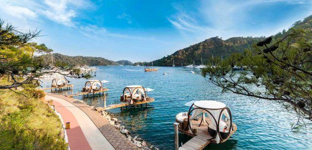 Top 10 #gocek otels, #fethiye  #turkey