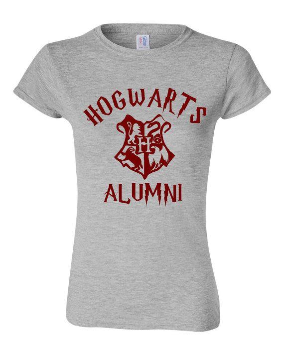 Hogwarts Alumni Wizard Lovers T Shirt Hogwarts by HarplynDesigns