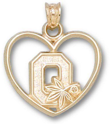 28 best ohio state pendants images on pinterest ohio state ohio state buckeyes block o heart pendant aloadofball Gallery
