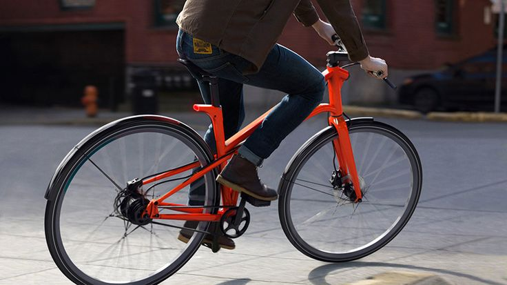 CYLO 1 bicycle improves urban safety with integrated brake lights - designboom   architecture