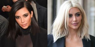 Chic Blonde Ambition; the best celebrities who pull off  platinum perfectly: Kim Kardashian