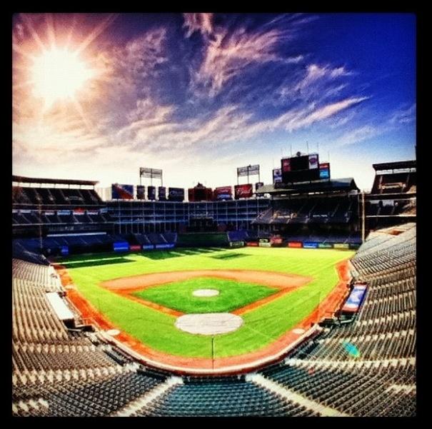 Rangers Ballpark in Arlington | Texas Rangers | #baseball
