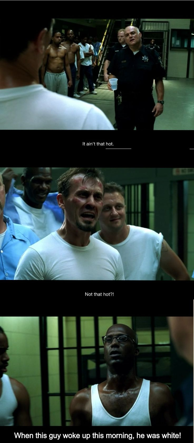 Tbag is my favorite prison break character. Sooo damn funny.