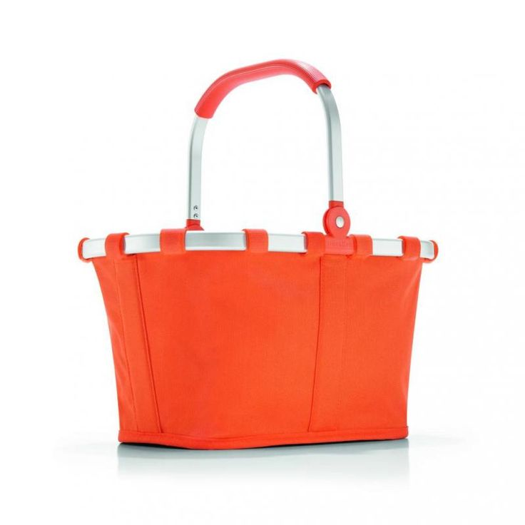 Koszyk carrybag XS carrot - DECO Salon. Shopping basket with the pocket inside, which is ideal eg for keys or wallet. #reisenthel #shopping #dladomu #forkids #giftidea #accessories #dziendziecka #dladziecka