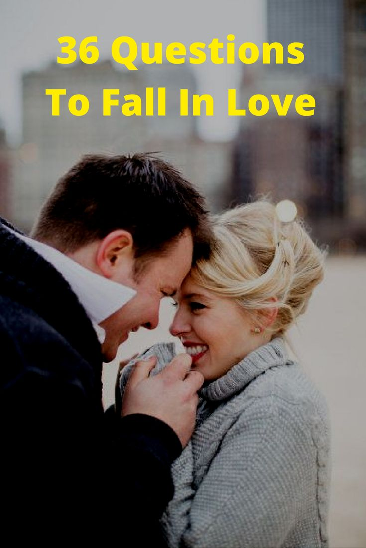 how to fall in love questions