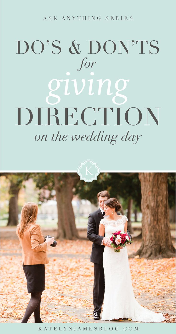 Should You Interrupt a Wedding Day?! Learn the Do's & Don'ts for Giving Direction on the Wedding Day from Katelyn James Photography