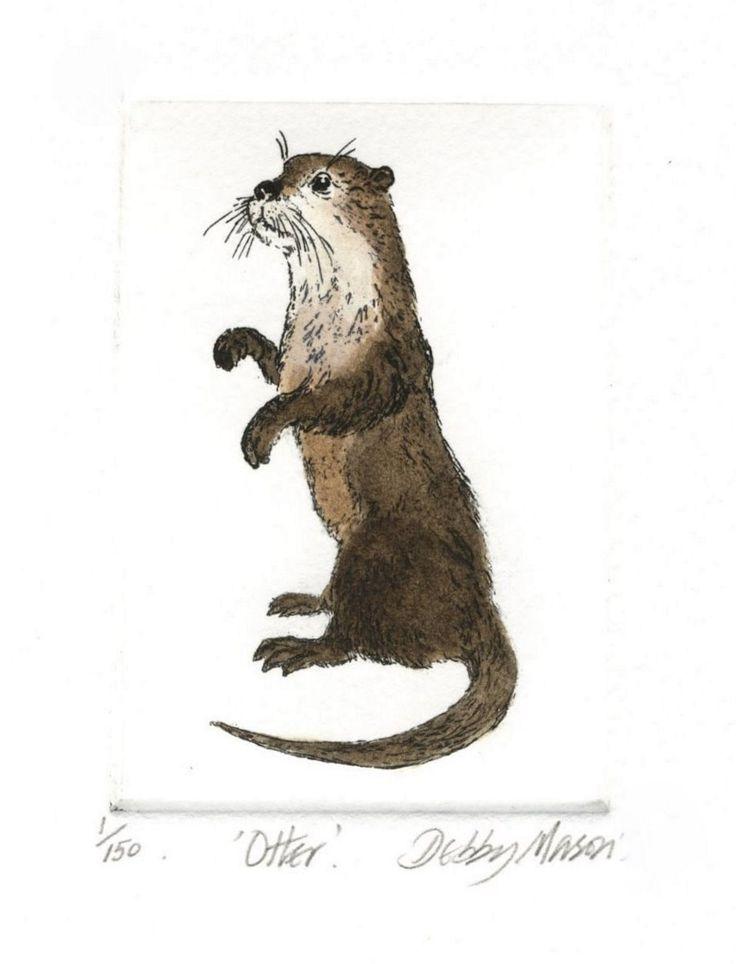 Otter by Debby Mason