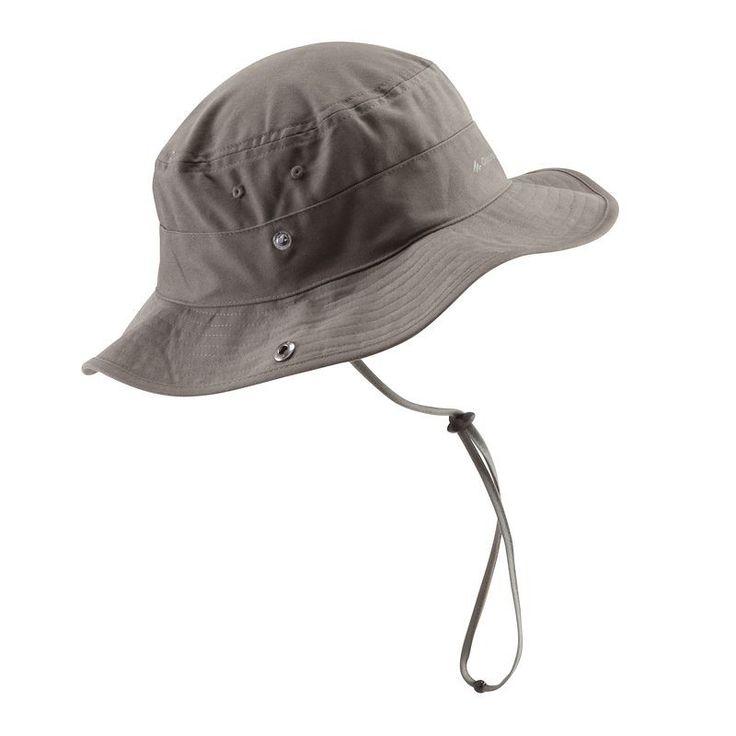 Pălărie Drumeţii Arpenaz 100 Kaki Bărbaţi