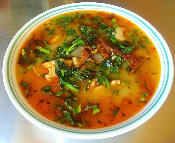 Tom Kha Gai // THE BEST Spicy coconut based Thai Soup
