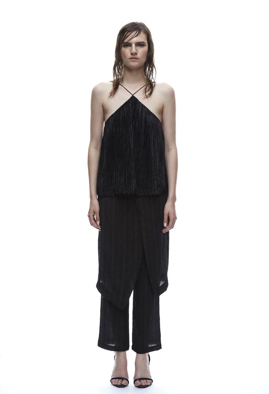 THIRD FORM SPRING 15 | RESTLESS CAMI  #thirdform #fashion #streetstyle #style #minimalism #trend #model #blackandwhite