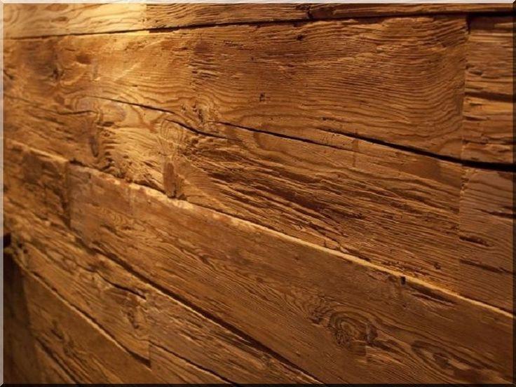 Antik fa burkolat, bontott faanyag