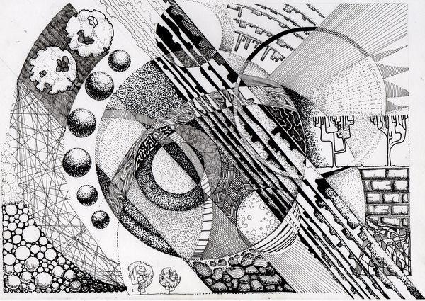 Чеботарева Евгения. Архитектурная графика