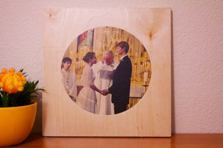 photo to wood transfer