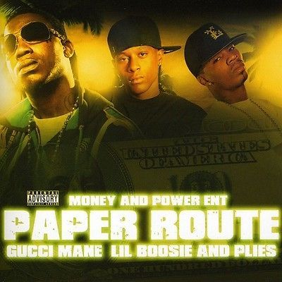 Paper Route - Lil Boosie & Gucci Mane (CD Used Very Good) Explicit Version