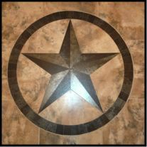 Texas Star Medallion - Hand Crafted in Bastrop, Texas by Jim Outlaw