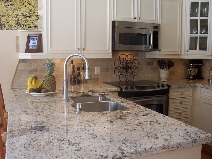 Granite Kitchen Set Sink With Cabinet 8 Crema Pearl Top Left Is A Sample And The Background 7744c2de093265fdcfabfa3da4e6e4bf Grey Countertops Counter Tops Jpg