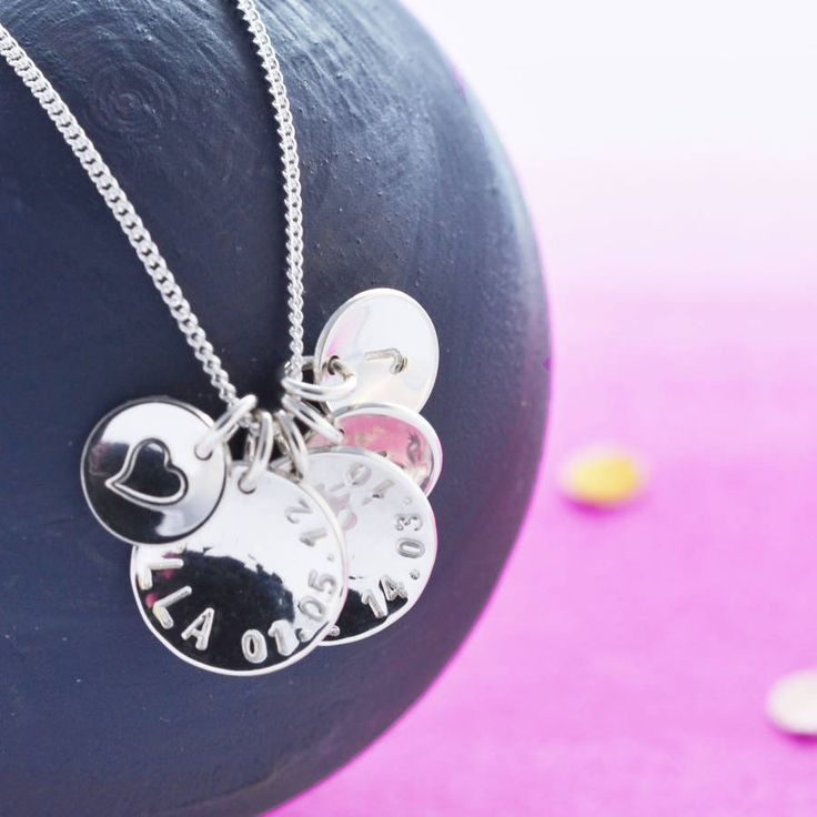 Personalised Her Story Necklace