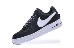 d9b4309fdf17e Nike Air Force 1 07 Lv8 NBA Pack Black White 823511 007 Mens Womens Casual  Shoes Sneakers
