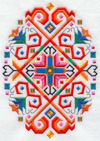 Bulgarian folk embroidery
