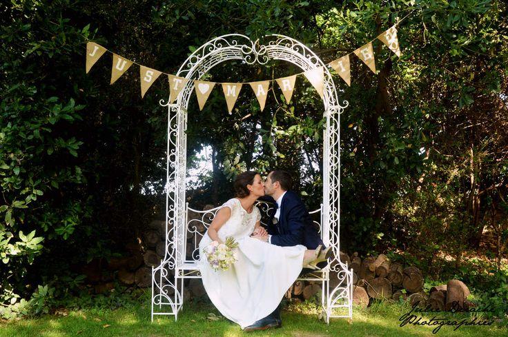 Un petit détail, une robe de mariée, une paire de chaussure, un créateur, un lieu de réception, une déco, un thème, une bonne idée mariage... chaque semaine je partage avec vous mon coup de cœur de la semaine. Avec le joli mariage de Mathilde et David...